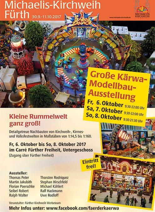 Kirmesmodellausstellung zur Michaeliskirchweih in Fürth