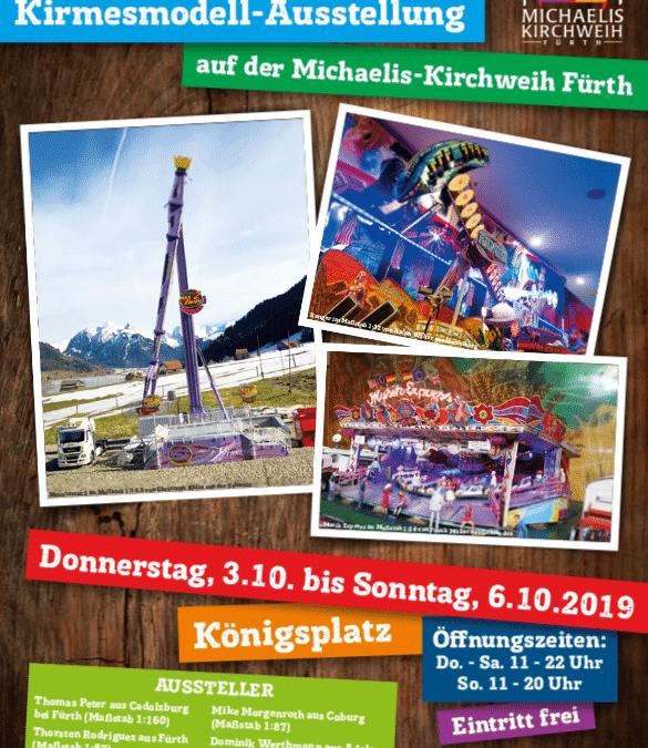 Kirmesmodellausstellung zur Michaeliskirchweih in Fürth 2019